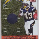 2011 Elite Down & Distance Jersey Darren Sproles Chargers /299