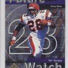 1997 SP Authentic Corey Dillon Bengals Patriots RC
