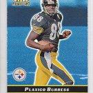 2000 Bowman's Best Plaxico Burress Steelers Jets /1499RC
