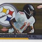 2002 Pacific Atomic Antwaan Randle El Steelers /465 RC