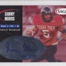 2000 Sage Autograph Sammy Morris Bills Cowboys /999 RC
