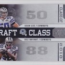2010 Contenders Draft Class Dez Bryant Sean Lee Cowboys RC
