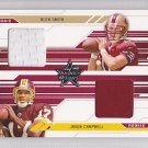 2005 Leaf R&S Dual Jersey Alex Smith Jason Campbell /500 RC