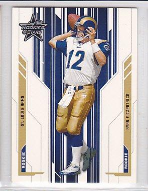 2005 Leaf Rookies & Stars Ryan Fitzpatrick Bills /799 RC