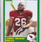 2009 Score 1989 Score Chris Beanie Wells Cardinals RC