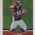 2011 Topps Finest Moments A.J. Green Bengals RC AJ