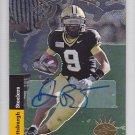 2008 SP Rookie Edition 93 Autograph Dorien Bryant Steelers RC