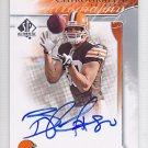 2009 SP Authentic Chirography Autograph Brian Robiskie Browns RC