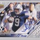 2009 UD Draft Autograph Austin Collie Colts RC