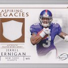 2011 Topps Legends Jersey Jerrel Jernigan Giants RC