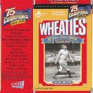 Wheaties Mini-Box Babe Ruth Yankees