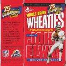 Wheaties Mini-Box John Elway Broncos
