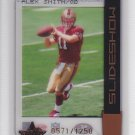 2005 Leaf Rookies & Stars Slideshow Alex Smith 49ers /1250 RC