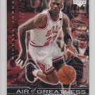 1999-00 Upper Deck Air of Greatness Michael Jordan Bulls