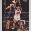 1999-00 UD Ovation MJ Center Stage #7 Michael Jordan Bulls