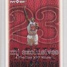 1999-00 UD MVP MJ Exclusives #187 Michael Jordan Bulls