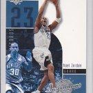 2002-03 UD Inspirations Michael Jordan Wizards Bulls