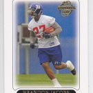 2005 Topps Brandon Jacobs Giants RC