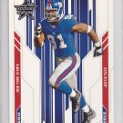 2005 Leaf Rookies and Stars Justin Tuck Giants RC