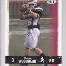 2008 Sage Hit Danny Woodhead Patriots RC