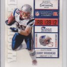 2010 Playoff Contenders Danny Woodhead Patriots RC