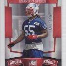2010 Donruss Elite Brandon Spikes Patriots /999 RC