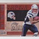 2010 Contenders Rookie Roll Call Aaron Hernandez Patriots RC
