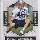 2010 Donruss Classics Aaron Hernandez Patriots /999 RC
