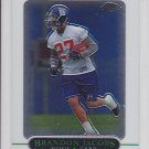 2005 Topps Chrome Brandon Jacobs Giants RC