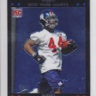 2007 Topps Chrome Ahmad Bradshaw Giants RC