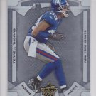 2008 Leaf Rookies and Stars Longevity Terrell Thomas /999 Giants RC