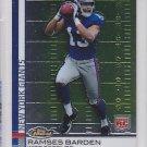 2009 Topps Finest Ramses Barden Giants RC