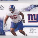 2009 SP Authentic William Beatty Giants /999 RC