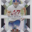 2009 Donruss Threads Silver Travis Beckum Giants /250 RC