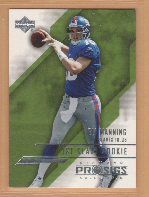 2004 UD ProSigs Rookie Eli Manning Giants RC SP
