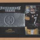 2008 Playoff Prestige Prestigious Pros Ben Roethlisberger Steelers /500