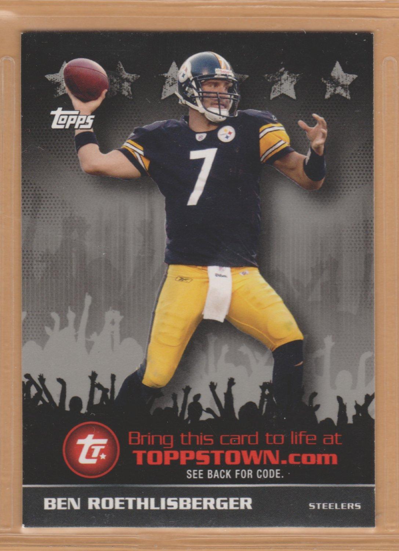 2009 Topps Toppstown Ben Roethlisberger Steelers