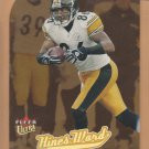 2005 Fleer Ultra Gold Medallion Die-Cut Hines Ward Steelers