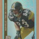 2006 Topps DPP Chrome Bronze Refractor Heath Miller Steelers /299