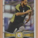 2012 Topps Chrome Xfractor Rookie Mike Adams RC Steelers