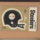 1982 Fleer Mini Sticker Pittsburgh Steelers w/ Schedule on Back