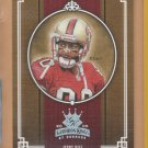 2005 Donruss Gridiron Kings Silver Jerry Rice 49ers /250
