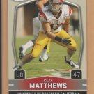 2009 Sage Hit Rookie Clay Matthews RC Packers
