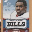 2011 Topps Rookie Rising Blue Marcell Dareus Bills RC /1339