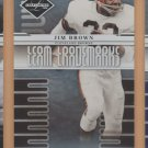 2008 Leaf Limited Team Trademarks Jim Brown Browns /999