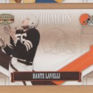2008 Gridiron Gear Performers Silver Dante Lavelli Browns /250