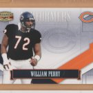 2008 Gridiron Gear Performers Silver William Perry Bears /250