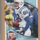 2009 Upper Deck Heroes Blue Marvin Harrison Colts /99