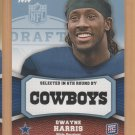 2011 Topps Rookie Rising Blue Dwayne Harris Cowboys RC /1339