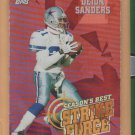 1999 Topps Season's Best Deion Sanders Cowboys